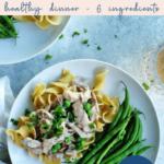 Slow Cooker Chicken stroganoff - easy - healthy - pinterest