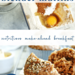 whole grain blender muffins - healthy easy breakfast - pinterest