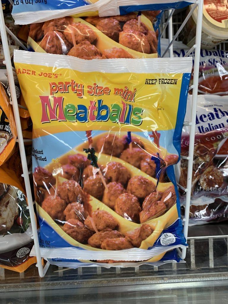 trader joe's mini meatballs