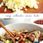 easy udon noodle stir fry - spicy - asian - pinterest