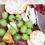 Costco cheese platter - pinterest