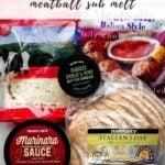 Easy Trader Joe's Recipe Meatball Marinara Sub2