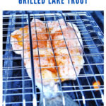 grilled lake trout recipe - pinterest