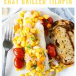 grilled tilapia recipe - pinterest