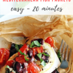 Mediterranean baked fish with olives - pinterest