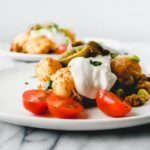 mexican tater tot casserole - two plates