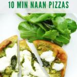 naan pizza recipe - pinterest