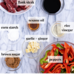 Ingredients for pepper steak - pinterest