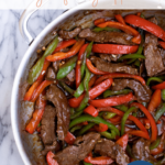 recipe for pepper steak stir fry - pinterest