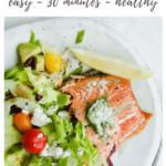 Salmon with Fresh Dill Butter recipe - pinterest