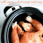 Slow Cooker Whole Chicken recipe - pinterest