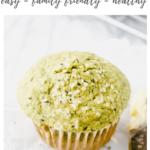 spinach muffin recipe - pinterest