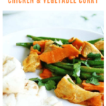 chicken and vegetable curry recipe - pinterest