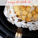 Cooking Trader Joe's cauliflower gnocchi in air fryer - pinterest