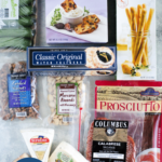 Ingredients for $45 Trader Joe's cheese board