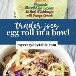 how to make egg rol in a bowl - pinterest