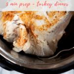 instant pot turkey breast recipe - pinterest