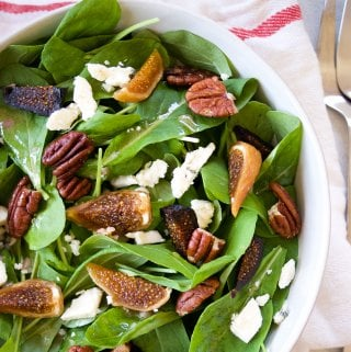 arugula salad with dried figs