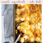 Easy Cheesy Potato Casserole - Dinner Side Dish - Pinterest