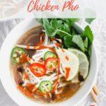 chicken pho recipe pinterest