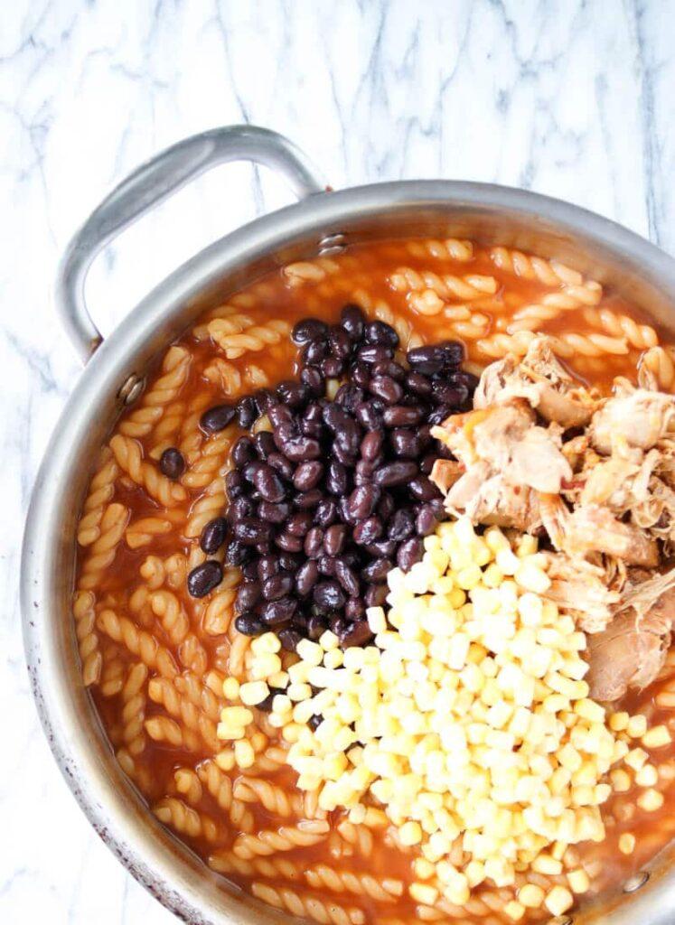 spicy chipotle chicken pasta