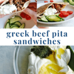 Greek Beef Pita Sandwich - Pinterest - Sloppy Joe