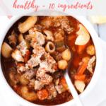 pasta fagioli recipe - pinterest