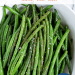 Recipe for haricots verts - pinterest