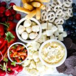 red white and blue cheese board ideas